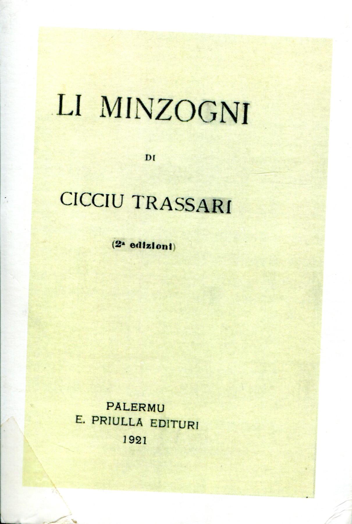 Poesie Di Natale In Dialetto Siciliano.Francesco Trassari Il Poeta In Ombra Siciliantica Capo D Orlando