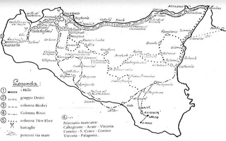 Garibaldini in Sicilia