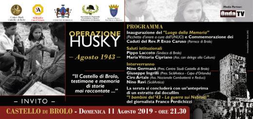 Operazione Husky - Agosto 1943